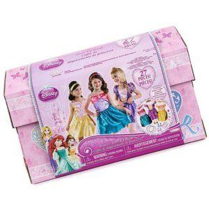 Princess Dress Up Trunk Ariel Rapunzel Belle